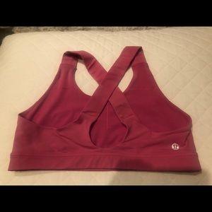 Lululemon pink all-sport bra